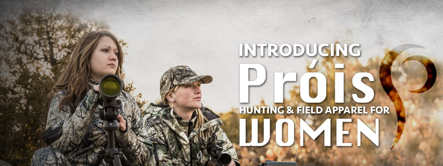 Introducing Prois Hunting Apparel for Women