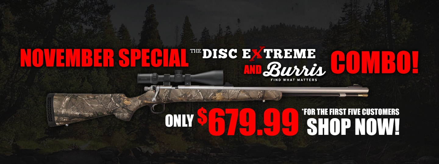 Disc Extreme and Burris Scope Combo